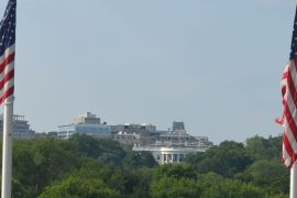 The White House from the Washinton Monument