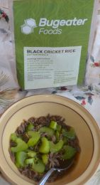 I really liked the rice with a beef broth and celery.